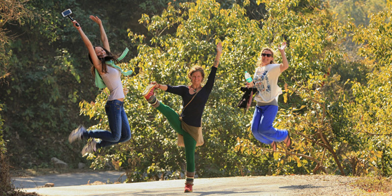 yoga energetic and optimistic