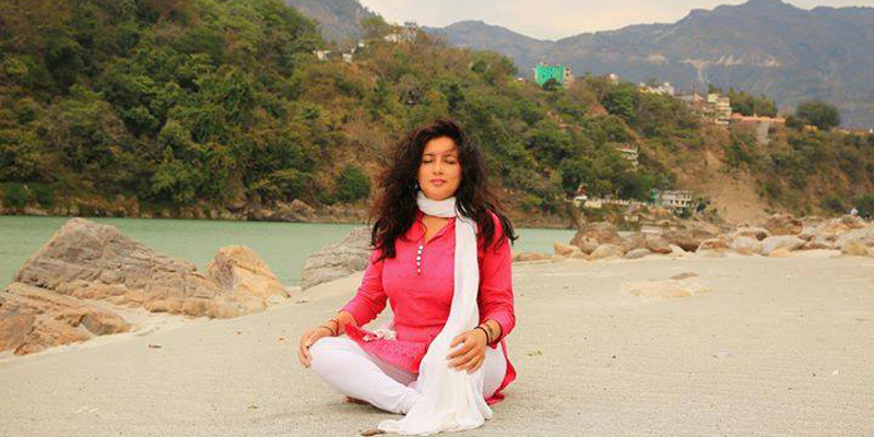 Meditation at Ganga River