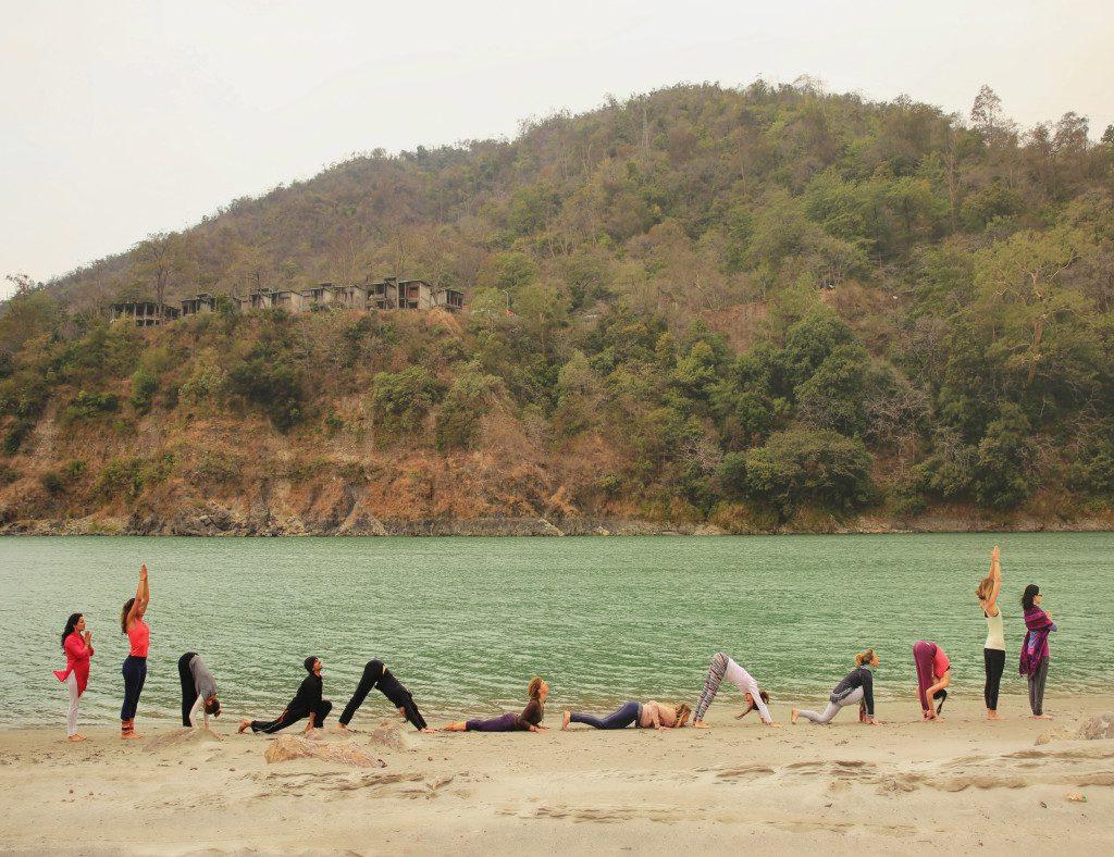 sun salutation rishikul yogshala
