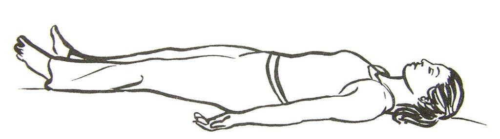 Savasana Corpse Pose