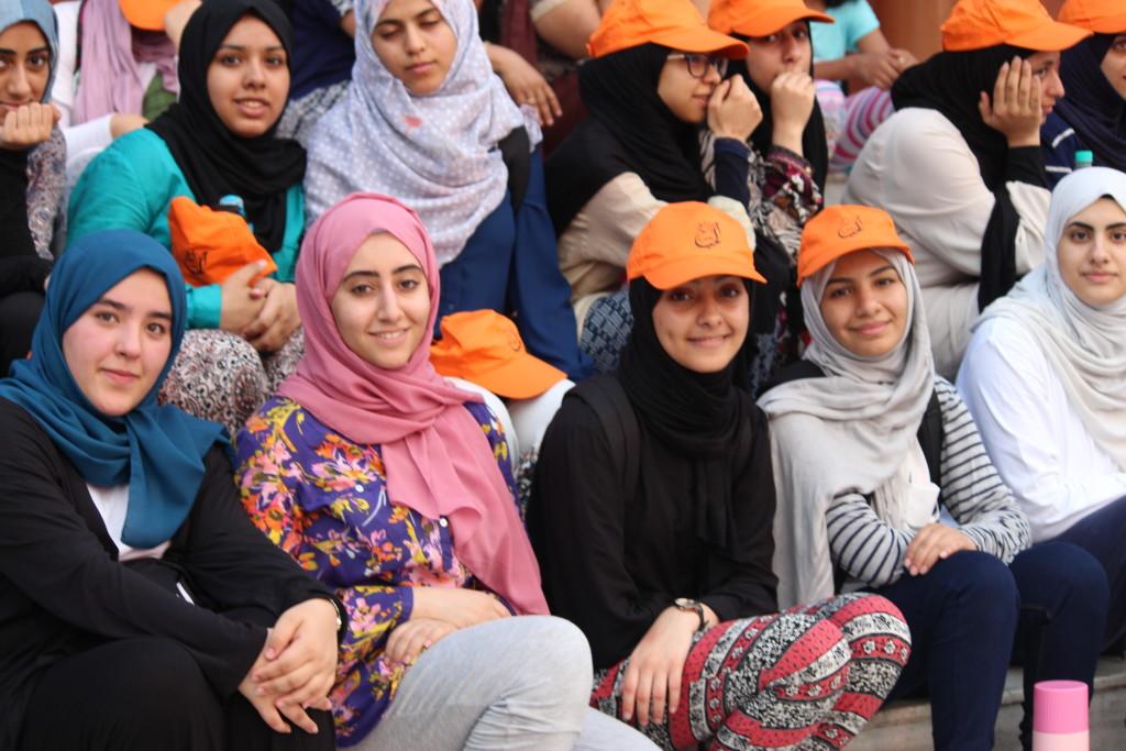 Saudi Arabian Students enjoying Ganga Aarti