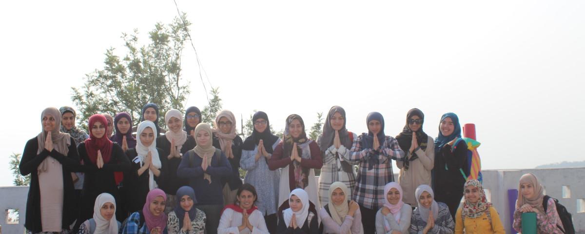 People from Saudi Arabia For Yoga Retreat in Rishikul Yogshala