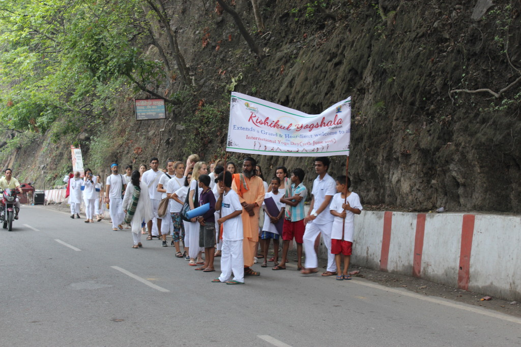 International Yoga Day 2016 Walk