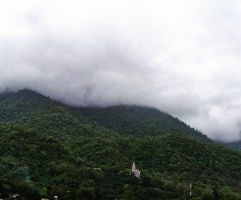 Cloudy Sky at Rishikesh