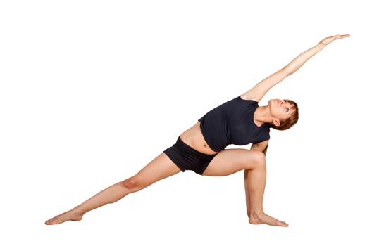 side angle posture