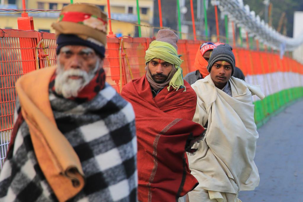 Yogis in Rishikesh