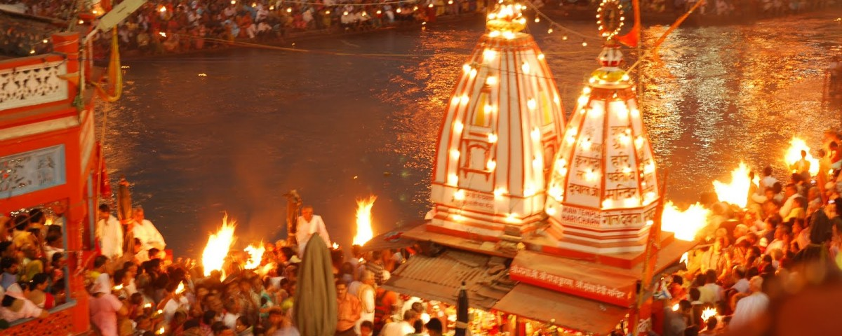 diwali celebration in rishikesh