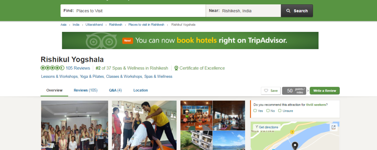 rishikul yogshala tripadvisor reviews