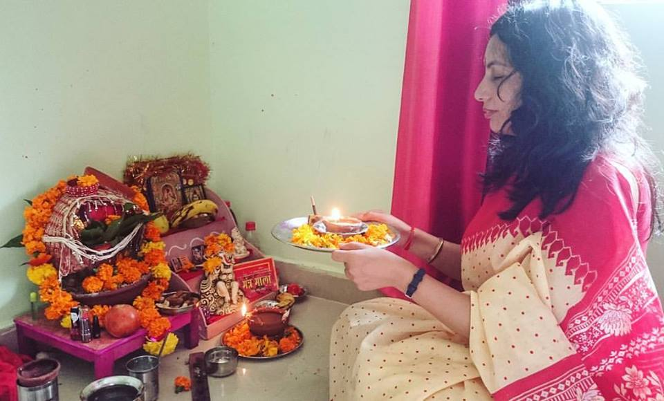 navratri celebration in india