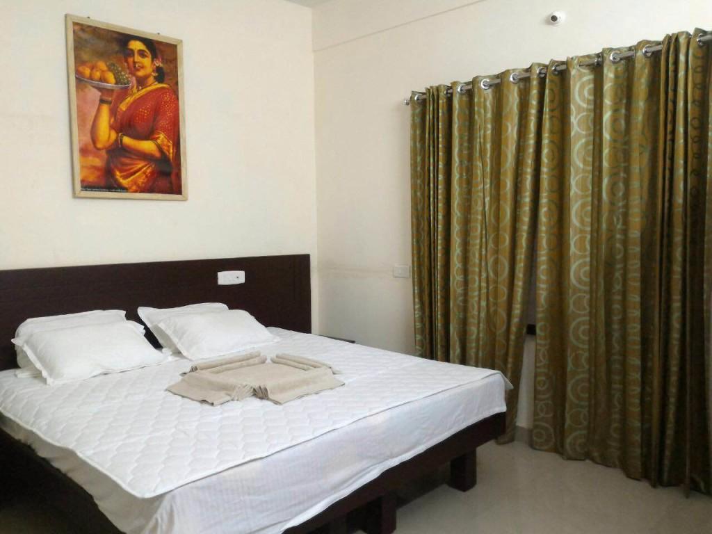 rishikul yogshala kerala rooms