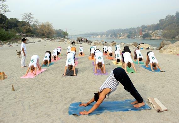 Ashtanga Yoga classes in Rishikesh