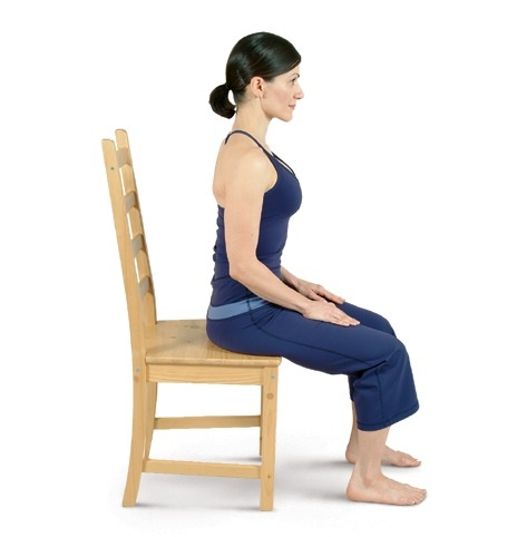 Seated Mountain Pose
