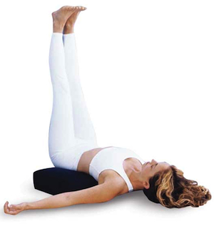Viparita Karani (Leg up the wall pose)
