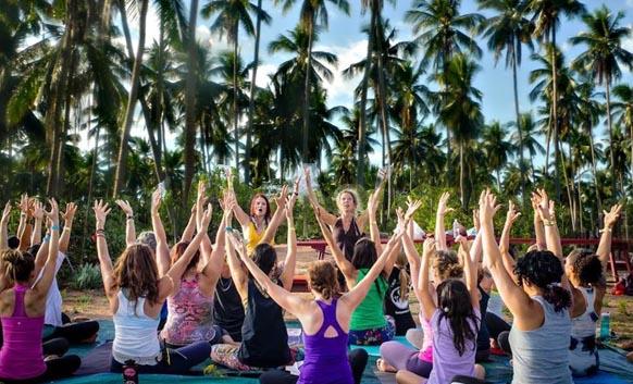 International Yoga-Dance-Music Festival in India
