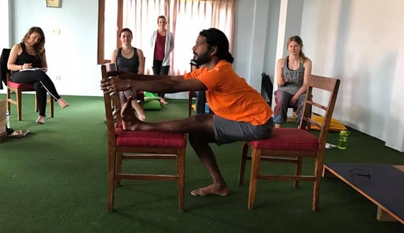 Chair Yoga classes in Rishikesh