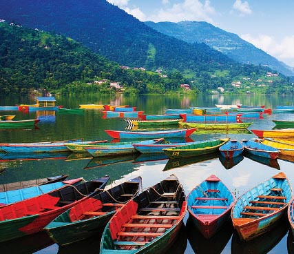 Phewa Lake Boating in Nepal