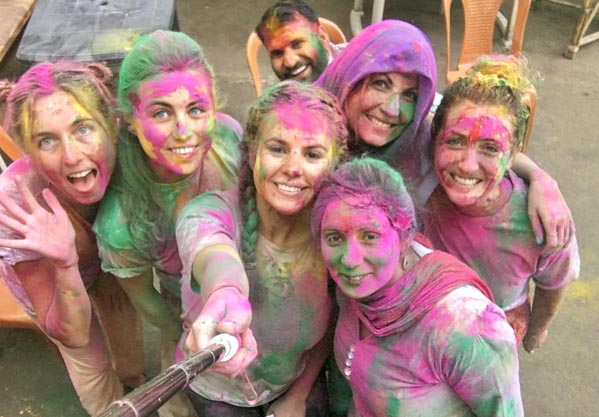 Festival Celebration in Rishikesh