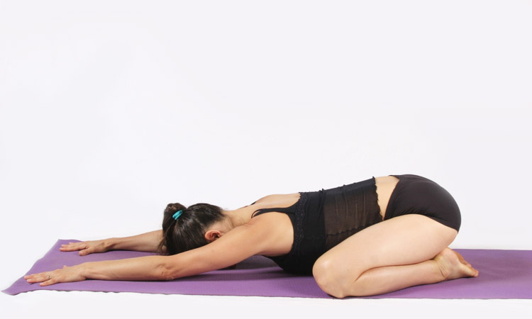 Forward Hero Pose (Virasana)