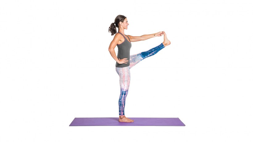 Hand-to-Big-Toe Pose (Utthita Hasta Padangustasana)