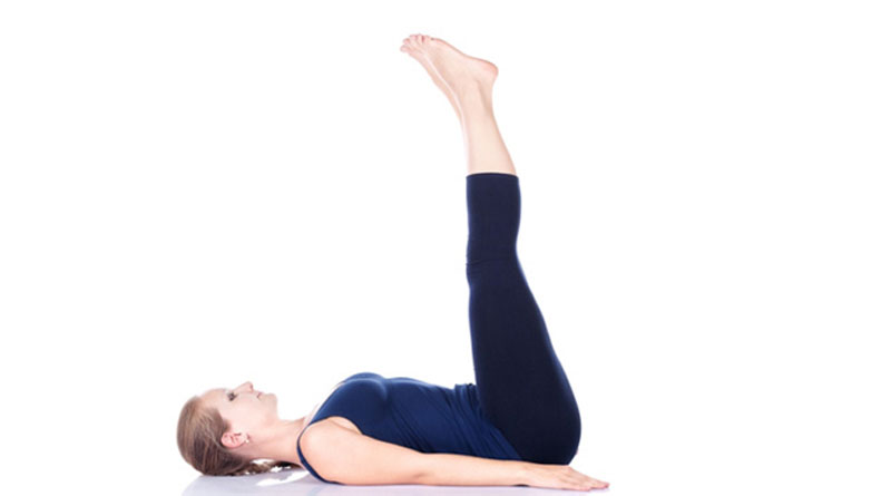 Legs up the wall Pose (Viparita-Karani)