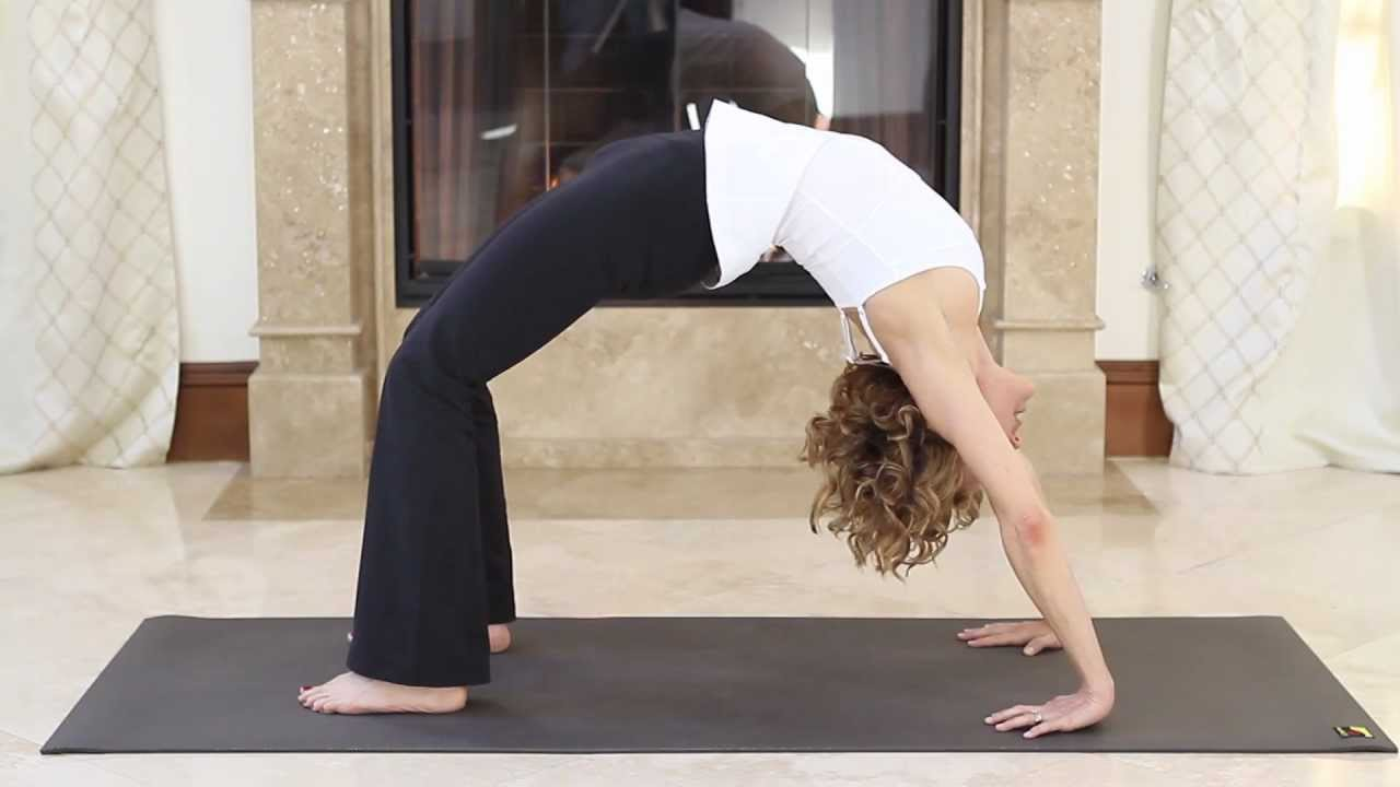 Upward-Facing Bow Pose-- Urdhva Dhanurasana