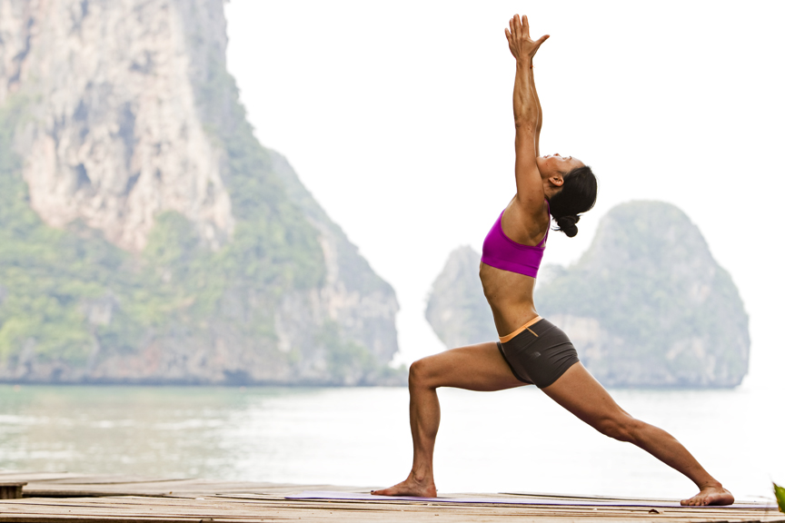 Warrior Pose I (Virabhadrasana I)