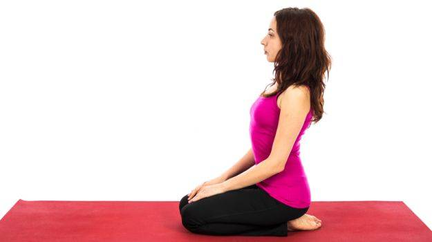 Diamond Pose (Vajrasana)