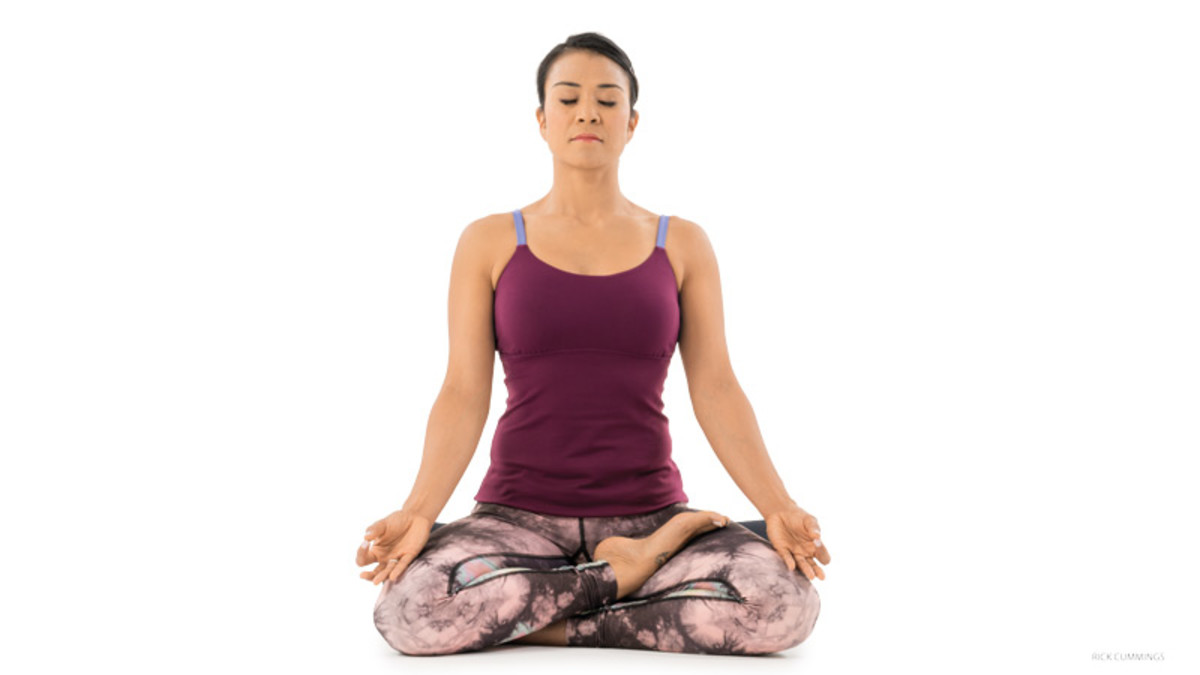 Yoga Positions Cross Legged