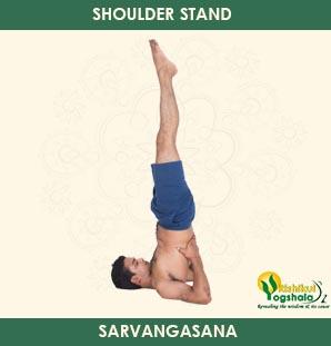 Shoulder Stand (Sarvangasana)