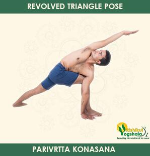 Revolved Triangle Pose - Rarivrtta Konasana