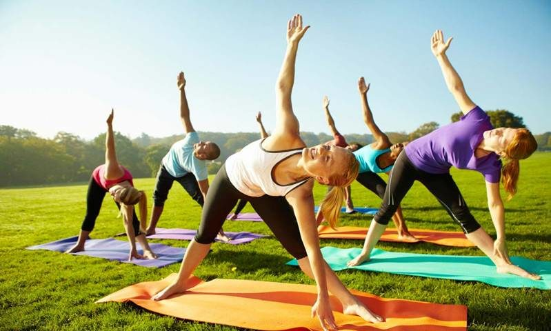 What Are The Top Five Things To Take To A Yoga Class