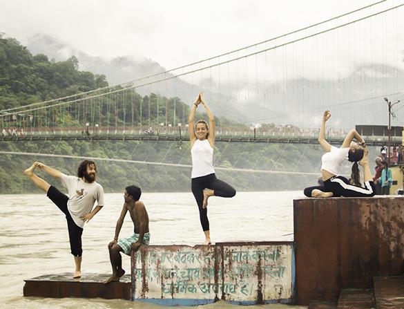 Yoga Pose Rishikul Yogshala